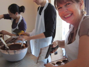 Brussels Chocolate Walking Tour and Workshop Photos