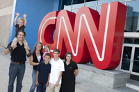 CNN Atlanta Studio Tour Photos