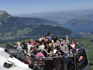 Day Trip from Zurich to Lucerne and Stanserhorn Including Funicular Railway, Aerial Cable Car and Train Ride Photos