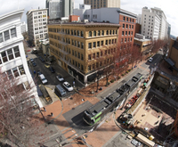 Downtown Portland Walking Tour Photos