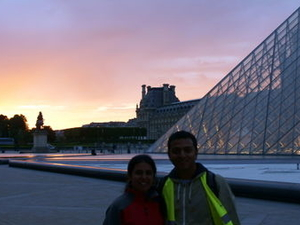 Paris Night Bike Tour Photos