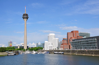 Düsseldorf Panoramic Sightseeing Cruise Including Commentary Photos