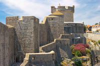 Dubrovnik Ancient City Walls Historical  Walking Tour Photos