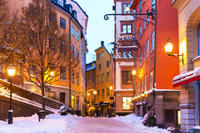 Gamla Stan Winter Walking Tour in Stockholm Photos