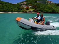 Grenada Shore Excursion: Self-Drive Boat and Snorkel Tour