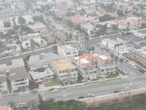 Los Angeles Beach Cities Helicopter Flight Photos