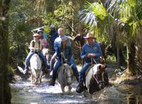 Horseback Riding at Forever Florida Eco-Reserve Photos