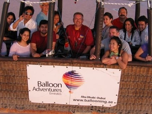 Dubai Hot Air Balloon Flight Photos