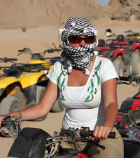 Hurghada Shore Excursion: Quad Biking in the Egyptian Desert from Hurghada Photos
