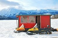 Ice Fishing from Whitehorse Photos