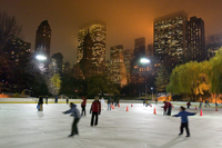 Ice Skating in Central Park  Photos