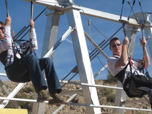 Bootleg Canyon Zipline Tour Photos