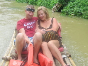 Martha Brae River Rafting and Dunn's River Falls Tour from Ocho Rios Photos