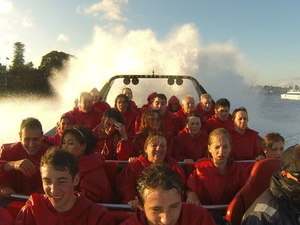 Sydney Shore Excursion: Sydney Harbour Jet Boat Thrill Ride: 30 Minutes Photos