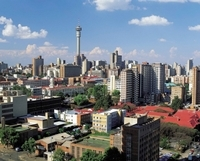 Johannesburg Walking Tour: Carlton Centre Observation Deck, Museum Africa and Market Theatre