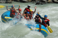 Kicking Horse River Whitewater Rafting Photos