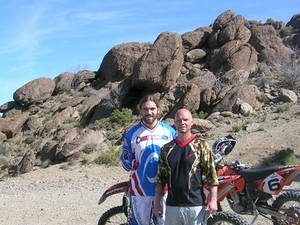 Hidden Valley and Primm Extreme Dirt Bike Tour Photos