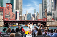 Lake Michigan and Chicago River Architecture Cruise by Speedboat Photos