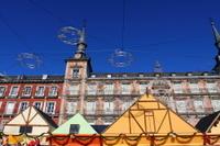 Madrid Christmas Walking Tour of Los Austrias: Plaza Mayor Christmas Market and Royal Palace of Madrid Photos