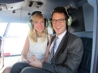 Married Over Manhattan: Helicopter Wedding in New York City Photos