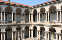 Milan Brera Museum Walking Tour Photos