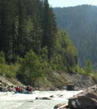 Mild Whitewater Rafting Adventure Photos