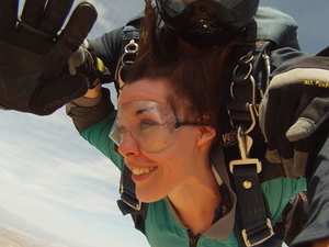 Las Vegas Tandem Skydiving Photos