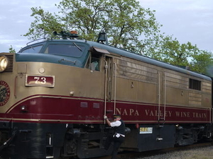 Napa Valley Wine Train Photos