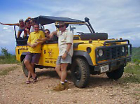 National Park Jeep Safari Photos
