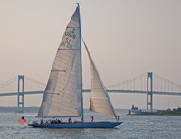 Newport Harbor Sail Aboard Former America's Cup Yacht Photos