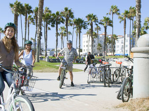 Electric Bicycle Tour of Santa Monica and Venice Beach Photos