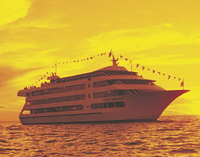 Oahu Luxury Sunset Dinner and Jazz Cruise Photos