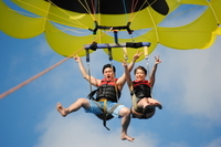 Oahu Parasailing Tour from Honolulu  Photos