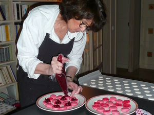 Learn How To Make French Macaroons in Paris Photos