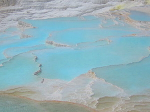 Small-Group Pamukkale Day Trip from Kusadasi: Travertines and Hierapolis Photos