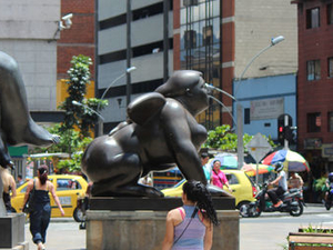 Fernando Botero Walking Tour of Medellín Photos