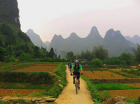 Private Bike Tour: Yangshuo Countryside Adventure with Family Option Photos