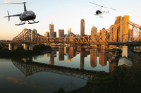 Private Brisbane Twilight Helicopter Tour