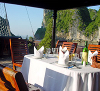 Private Tour: Deluxe Halong Bay Day Cruise including Seafood Lunch from Hanoi Photos