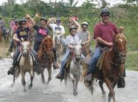 Punta Cana River Horseback Riding and Zipline Tour Photos