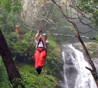 Puntarenas Shore Excursion: Waterfall Canopy Zipline Tour Photos
