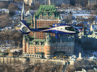 Quebec Shore Excursion: City Helicopter Tour