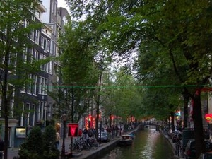 Amsterdam Red Light District Walking Tour Photos