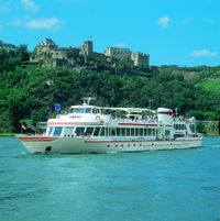 Rhine River Cruise from Koblenz to St Goare: Loreley Rock, Ehrenbreitstein Fortress and Koblenz Cable Car Photos