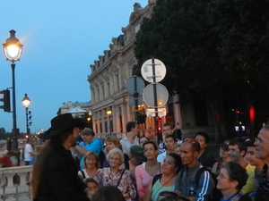 Paris Ghost and Mystery Walking Tour Photos