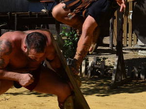 Roman Gladiator School: Learn How to Become a Gladiator Photos