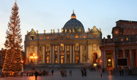 Rome Christmas Day Walking Tour Photos