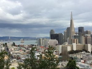 San Francisco Urban Hike: Coit Tower, Lombard Street and North Beach Photos