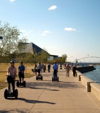 Segway Tour of Tempe Town Lake in Arizona Photos