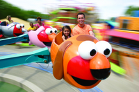 Sesame Place Theme Park Photos